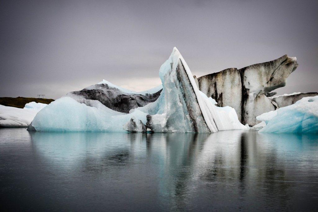 Iceland glacier lagoon